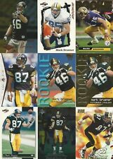 1995 Select Certified Mark Bruener RC Pittsburgh Steelers Lot Washington
