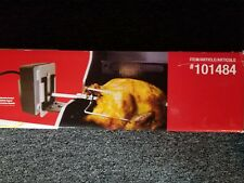 Rotisserie Kit With Electric Motor And Steel Spit, 101484