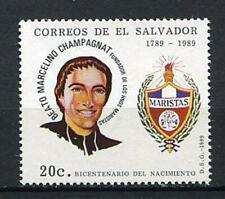 27331) EL SALVADOR 1989 MNH** Nuovi** Marcellin 1v