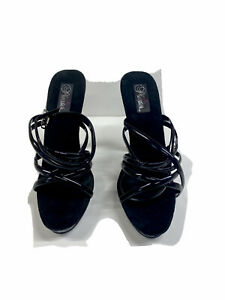 """Brand New """" With Defects"""" Women Pleaser Shoes Lip-106 Black"""