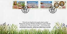 Ascension Island 2015 FDC Magna Carta Octocentenary 4v Set Cover King John