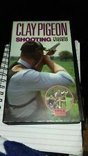 clay pigeon shooting vhs training video cpsa approved