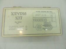 Keying Kit No 9301 For Cylindrical Tubular And Deadbolt Locks