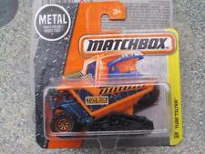 MATCHBOX 2016 #046/125 Turf basculeur orange décharge DOZER MBX CONSTRUCTION