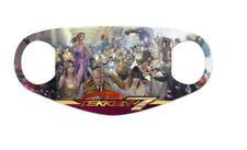 Tekken 7 Wallpaper Neoprene Reusable Custom Face Mask - 3 Day Shipping