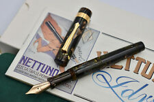 NETTUNO (STIPULA) Idra Green Celluloid Limited Edition Fountain Pen #404/511 M