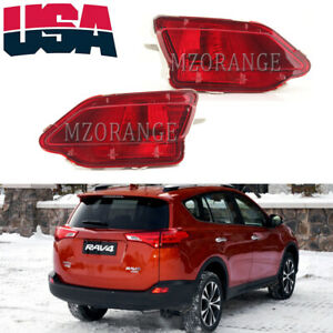 Rear Bumper Light Fog Lamp Reflector Housing For Toyota RAV4 2013 2014 2015 USA
