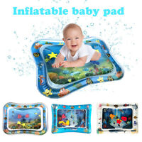 Baby Kid Inflatable Water Play Mat Toddler Fun Tummy Time Play Activity Play Toy