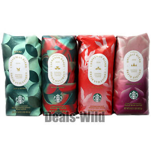 Starbucks Christmas Blend 2020 Holiday Medium or Dark Roast Whole or Ground 1lb