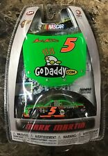 NASCAR Mark Martin GoDaddy.com Chevy Impala Diecast Race Car 2010 Winners Circle