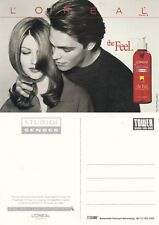 L'OREAL HAIR PRODUCTS ADVERTISING UNUSED COLOUR POSTCARD (a)