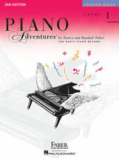 PIANO ADVENTURES Lesson Book Level 1 *NEW* 2nd Edition Music Tuition Faber