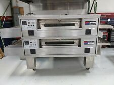 Middleby 570 Dbl Deck Nat Gas Conveyor oven for Lease or Sale