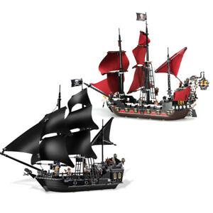 Pirates Of The Caribbean The Black Pearl + Queen Anne's Revenge Bausteine.Bricks
