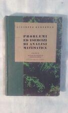 Problemi ed esercizi di analisi matematica Vol. 2 - Burnengo - Ed. SEI - 1942