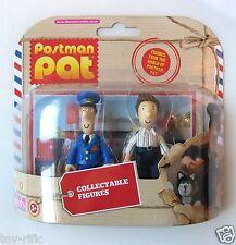 POSTMAN PAT 2 FIGURE SET - PAT AND BEN TAYLOR - AS IMAGE - BRAND NEW!