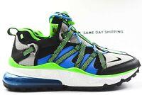 Nike Air Max 270 Bowfin (Mens Size 9.5) Shoes AJ7200 002 Sprite Black Photo Blue