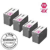 4 pack 793-5 Red Ink Cartridge for Pitney Bowes DM125 Personal Post