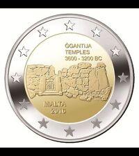 Pièces euro de Malte Année 2016