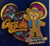 Disney Parks Exclusive Shanghai DUFFY BEAR Grand Opening Pin#121117 NEW