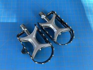 """Suntour XC Pedals Sealed Bearing 9/16""""x20t Vintage Mountain/Touring 80s"""