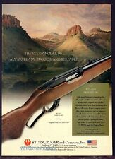 2002 RUGER Model 96 44 magnum Lever-Action Rifle AD Collectible Gun Advertising