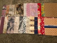 Vintage Lot of Hallmark & Others All Occasions Wrapping wrap Gift Paper
