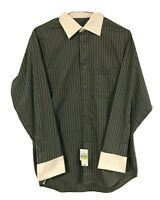 Donald J Trump Signature Collection Men's French Cuff Button Up Dress Shirt New