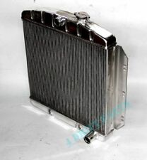 POLISHED ALL ALUMINUM RADIATOR FIT CHEVY C10 Panel Base 1960-62 3 ROWS