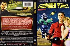 Forbidden Planet ~ DVD ~ Walter Pidgeon, Anne Francis (1956) WBHE