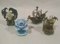 Set of All 4 Green Bottom Skylanders Expansion Pack Adventure Special Attacks