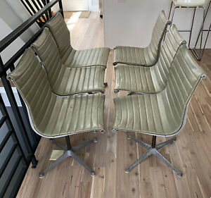 Eames Aluminum Group Chair, 6 available