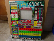Bingo backglass ' LONDON ' Bally, no shipping, only collect !