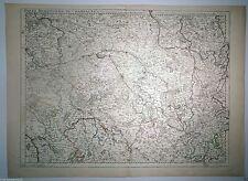 MAP Champagne, Guillaume Delisle, 1713, Parigi Acquaforte