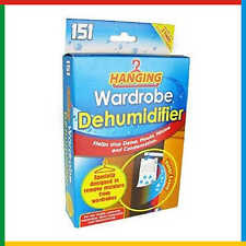 Hanging Wardrobe Dehumidifier - Helps Stop Damp