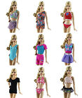 10 Items 5 PCS Lovely Fashion Bikini Swimsuit  5 Pairs Shoes for 11.5in.Doll H5