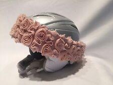 Girl's Ski or Bike Helmet Accessories Pink Rosie