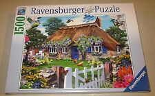 RAVENSBURGER 1500 PC PUZZLE - COTTAGE IN ENGLAND - COMPLETE