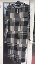 BNWT River Island Check Bodycon Midi Dress Size 12
