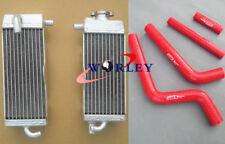 Aluminum radiator & hose for YAMAHA YZ125 YZ 125 1996 1997 1998 1999 2000 2001