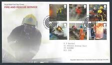 29170) UK - GREAT BRITAIN 2009 FDC Firemen 6v