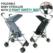 Foldable Baby Stroller with 3 Points Safety Belt