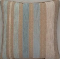 A 16 Inch Cushion Cover In Laura Ashley Maxwell Duck Egg Fabric