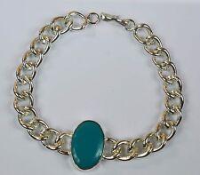 Turquoise Feroza Gemstone Men's Bracelet Bollywood Fashion Salman Khan Style -18