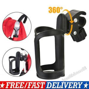 Universal Drink Holder Baby Stroller Milk Cup For Pushchair Bike Pram~Buggy 360°