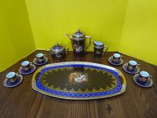 Vintage Czechoslovakia Tea Set DECORATION FINE ART WORKS Classical Pictorial