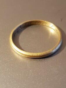 Antique rare Gold posy ring