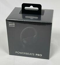 Apple Powerbeats Pro - Totally Wireless Earphones - Black MY582LL/A NEW SEALED