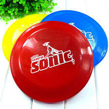 High Quality 22cm Safe Funny Pet Toy Dog Flying Disc Soft Frisbee Christmas Gift