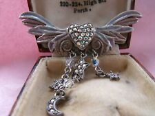 Kirks Folly Angel Wings Brooch